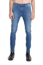 Neuw Denim Mens Iggy Skinny Jeans- Anthrax Blue