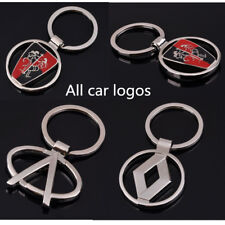 Fashion New Auto Part 3D Metal Famous Car Logo Keychain Keyring Colletion Gift