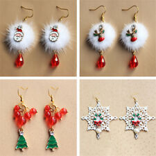 Earring Women Crystal Christmas Earring 1 Pair Fashion Jewelry Christmas Series