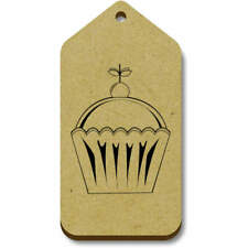'Cake With Cherry' Gift / Luggage Tags (Pack of 10) (vTG0002715)