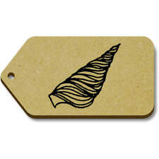 'Seashell' Gift / Luggage Tags (Pack of 10) (vTG0006654)