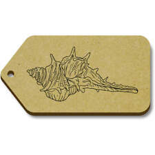 'Seashell' Gift / Luggage Tags (Pack of 10) (vTG0008567)