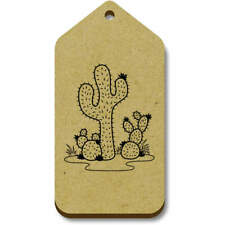 'Spiny Cacti' Gift / Luggage Tags (Pack of 10) (vTG0014732)