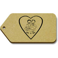 'Love Is Love' Gift / Luggage Tags (Pack of 10) (vTG0014624)