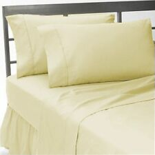 BRAND NEW US BEDDING COLLECTION ITEMS - 1000 TC 100%EGYPTIAN COTTON IVORY SOLID