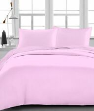 BRAND NEW US BEDDING COLLECTION ITEMS - 1000 TC 100%EGYPTIAN COTTON PINK SOLID
