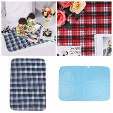Washable Underpads Bed Seat Reusable Pad Waterproof Incontinence Hospital Home