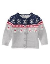 NWT Gymboree Girls Holiday Shop Snowman Sweater Size 6-12M 12-18M 18-24M