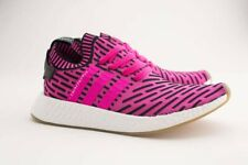 BY9697 Adidas Men NMD R2 Primeknit pink shock pink core black