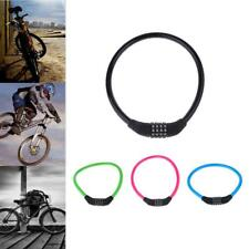 Bicycle Combination Lock Steel Cable Lock Anti-theft Lock Security Lock
