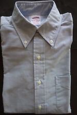 NWOT Brooks Brothers Blue Oxford Cloth Button Down Collar Shirt Traditional Fit