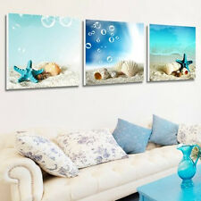 Art Oil Painting Modern Home Deco Beach Starfish Scenery Picture Print On Canvas