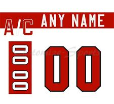 Olympic Hockey 2010 Team Canada White Jersey Customized Number Kit un-stitched