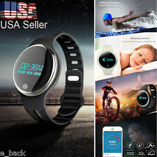 Smart Watch E07 Bluetooth Bracelet Sport Monitor Fitness Pedometer Android IOS H