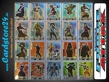 STAR WARS FORCE ATTAX Series 1 - All Force Master Individually Selectable - NEW
