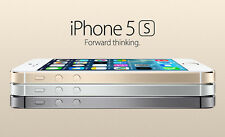 Apple iPhone 5S/5C/4S 32/64GB GSM Unlocked Smartphone Gold Gray Silver ON