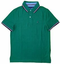 Tommy Hilfiger Men's Striped Collar Polo