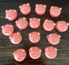 15 Pack Super Strong Scented Wax Melts Pig Shaped Tart Melts~ BREAD Scents