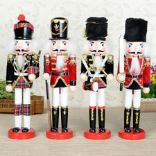 Wooden Soldier Nutcracker Puppet Handcraft Gifts Christmas Xmas Home Decoration