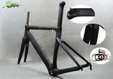 Carbon 700C Racing TRACK Road Bike Bicycle Frame 48 51 54 56cm 3K Matte Frameset
