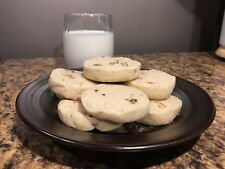 Fresh Baked Homemade Shortbread Sandies Cookies ~ Choose Your Favorite Nut