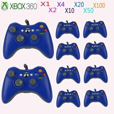 LOT Blue USB Wired Game Remote Controller for Microsoft Xbox 360 PC Windows EK