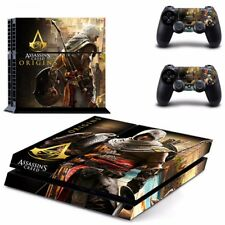 Assassin's Creed Origins Skin Sticker Decal For Sony PS4  Console/ 2 Controllers