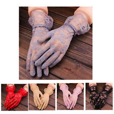 Women Bridal Gloves Evening Wedding Party Prom Driving Costume Lace Gloves Good