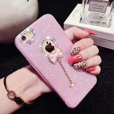 Fashion Candy Crystal Bling Glitter Powder Shine soft TPU Phone Cases For iPhone