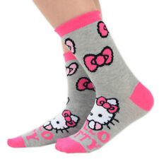 3 Pairs of Hello Kitty Ankle Socks for Girls Various Sizes Available