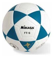 Soccer Football Footvolley MIKASA Goal Master Ball FT5 Series Blue+White Size 5