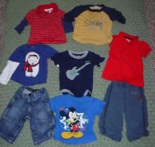 "Lot of 8 Infant Boy's Clothes ""baby GAP, Old Navy"" and more - size 6 - 12m"