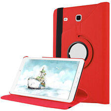 360 Rotating Swivel Leather Case Cover For Samsung Galaxy Tab E 9.6  8.0 Tablet