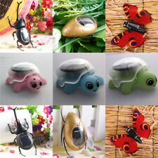 Toys Solar Power Children's Robot Butterfly/Tortoise Insect Educational Fun