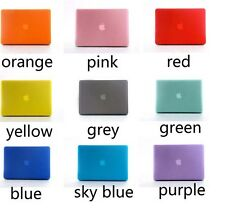 """Rubberized Hard Cover Crystal Case For Macbook AIR 11"""" Free Keyboard Cover"""