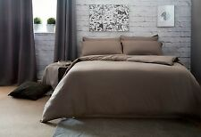 100% Combed Jersey Cotton Bed Linen in Brown
