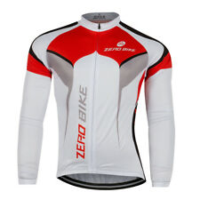 Mens MTB Clothing Cycling Jersey Bicycle Sports Wear Long Sleeve Bike Shirt Top