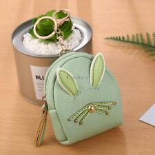 Women Synthetic Leather Cute Rabbit Ear Pattern Coin Purse Wallet with CO99