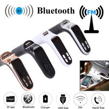 Car FM Transmitter Bluetooth LCD MP3 Player Radio Adapter Kit Charger Hands-free