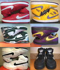 NEW NIKE AIR FORCE OR GAMMA FLIGHT OR JORDAN OR SHEER FORCE MID OR SHOX ELITE II