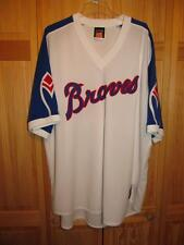 Majestic Cooperstown Collection Braves Jersey Sewn/Stitched Adult Size 3XL