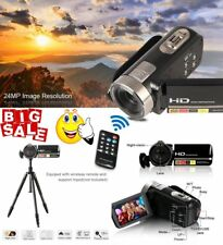 24MP 3.0inch HD 1080P LCD CMOS Digital Video Cam Camcorder DV 16X Zoom HDMI SRW