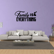 Wall Decal Quote Family Is Everything Decor Vinyl Quotes Family Wall Art JP445