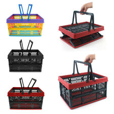Car Trunk Organizer Foldable Storage Basket Outdoor Camping Picnic Container