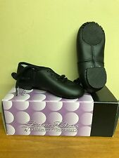 New Dance Class Trimfoot Lace Up Jazz Dance Shoe Black Childs Multiple Sizes