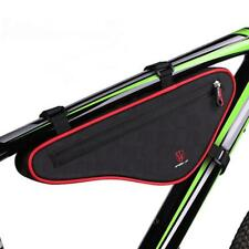 Bike Front Top Tube Bag Triangle Frame Bag Pannier Saddle Pouch Storage Case