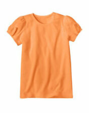 NWT Gymboree Panda Academy Orange Bow Sleeve Top Size 3 & 6