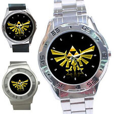 The Legend of Zelda Triforce Logo Stainless Steel Watch