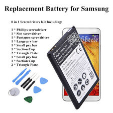 Black Replacement Battery for Samsung Galaxy Series (+ 8 in 1 Screwdrivers Kit)