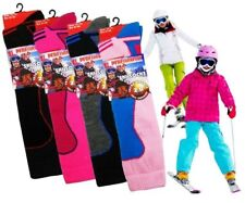 Kids Ski Socks Thermal High Performance  with Extra Cushioning UK 9-12 3 Pack